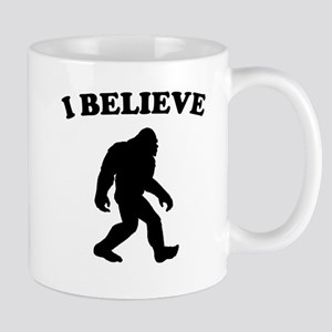 Bigfoot I Believe Mugs