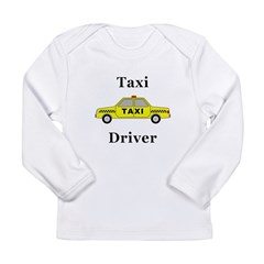 Taxi Driver Long Sleeve Infant T-Shirt