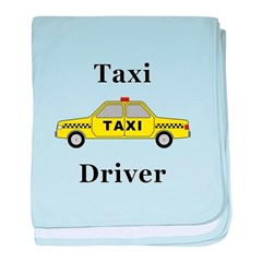 Taxi Driver baby blanket