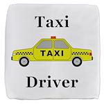 Taxi Driver Cube Ottoman