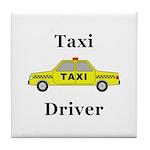 Taxi Driver Tile Coaster