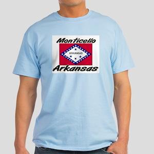 Monticello Arkansas Light T-Shirt