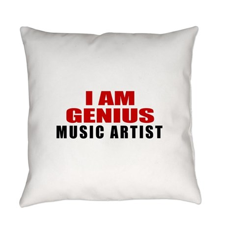 I Am Genius Music artist Everyday Pillow