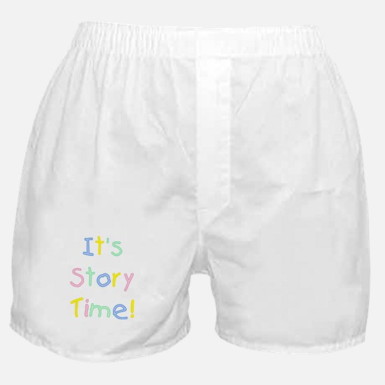 It's Story Time! Boxer Shorts