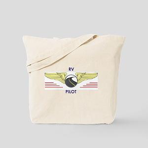 RV Pilot Tote Bag
