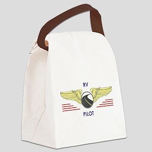 RV Pilot Canvas Lunch Bag
