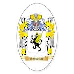 Schweiker Sticker (Oval 50 pk)