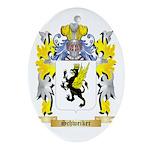 Schweiker Oval Ornament