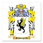 Schweigerdt Square Car Magnet 3
