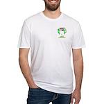 Schwartz Fitted T-Shirt