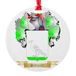 Schwartz Round Ornament