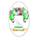 Schwartz Sticker (Oval)