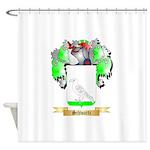 Schwartz Shower Curtain