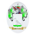 Schwartz Oval Ornament