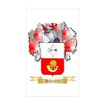Schuster Sticker (Rectangle 50 pk)
