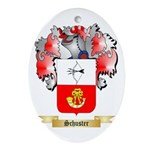 Schuster Oval Ornament