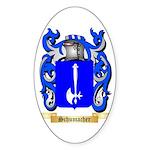 Schumacher Sticker (Oval 50 pk)