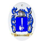 Schumacher Oval Ornament