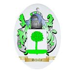 Schulze Oval Ornament