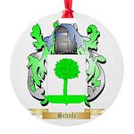 Schulz Round Ornament