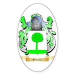 Schultz Sticker (Oval 50 pk)