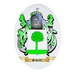 Schultz Oval Ornament