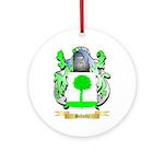 Schultz Round Ornament