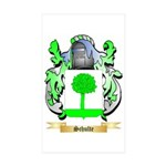 Schulte Sticker (Rectangle 50 pk)