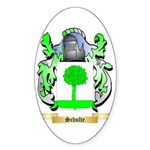 Schulte Sticker (Oval 50 pk)