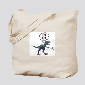 T-Rex Loves Occupational Therapy Tote Bag