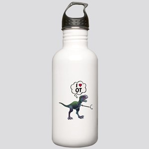 T-Rex Loves Occupation Stainless Water Bottle 1.0L