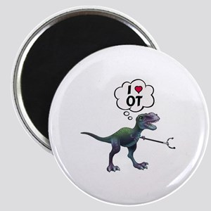 T-Rex Loves Occupational Therapy Magnets