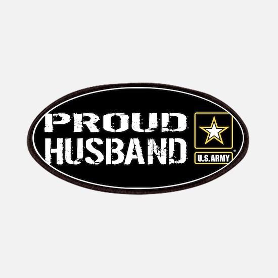 U.S. Army: Proud Husband (Black) Patch