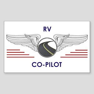 Rv Co-Pilot Sticker