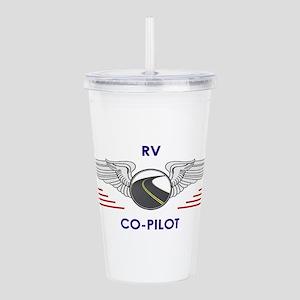 RV Co-Pilot Acrylic Double-wall Tumbler