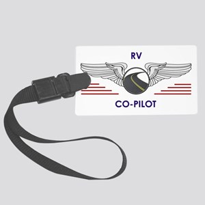 Rv Co-Pilot Large Luggage Tag