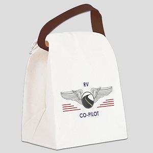 RV Co-Pilot Canvas Lunch Bag
