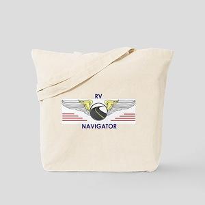 RV Navigator Tote Bag