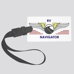 Rv Navigator Large Luggage Tag