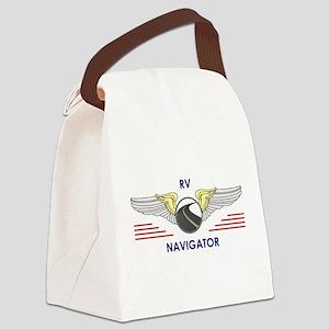 RV Navigator Canvas Lunch Bag