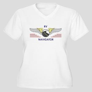 RV Navigator Plus Size T-Shirt