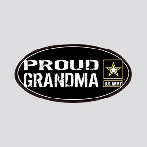 U.S. Army: Proud Grandma (Black) Patch