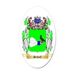 Schull Oval Car Magnet