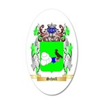 Schull 20x12 Oval Wall Decal