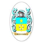 Schukowski Sticker (Oval)