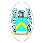 Schuffner Sticker (Oval 10 pk)