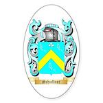 Schuffner Sticker (Oval 50 pk)