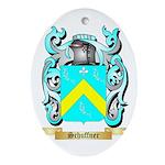 Schuffner Oval Ornament