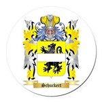 Schuckert Round Car Magnet