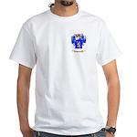 Schucker White T-Shirt
